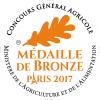 Médaille de Bronze au Concours Général Agricole de Paris - 2017