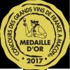 Médaille d'Or au Concours des Grands Vins de France à Macon - 2017