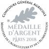 Médaille d'Argent au Concours Général Agricole de Paris - 2018