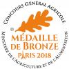Médaille de Bronze au Concours Général Agricole de Paris - 2018